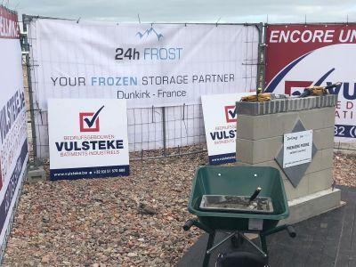 Eerste steenlegging 24h Frost